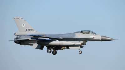 Photo ID 174695 by Peter Boschert. Netherlands Air Force General Dynamics F 16AM Fighting Falcon, J 006