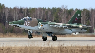 Photo ID 174738 by Sergey Koptsev. Russia Air Force Sukhoi Su 25, RF 29169