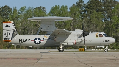 Photo ID 174964 by David F. Brown. USA Navy Grumman E 2D Advanced Hawkeye, 168990