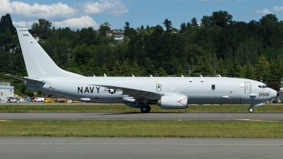 Photo ID 174926 by Russell Hill. USA Navy Boeing P 8A Poseidon 737 800ERX, 168998