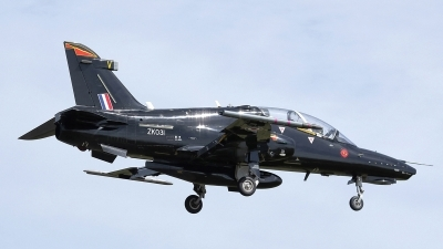 Photo ID 175041 by Mike Griffiths. UK Air Force BAE Systems Hawk T 2, ZK031