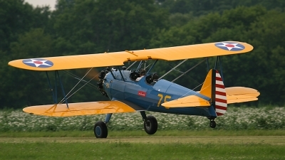 Photo ID 175203 by Wayne Dippold. Private Private Boeing Stearman E75N1, N5222