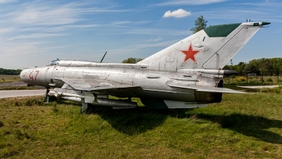 Photo ID 175087 by Jan Eenling. Russia Air Force Mikoyan Gurevich MiG 21PFM, 47 RED