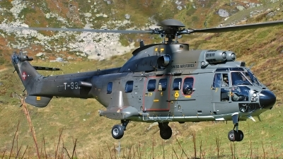 Photo ID 175165 by Sven Zimmermann. Switzerland Air Force Aerospatiale AS 532UL Cougar, T 332
