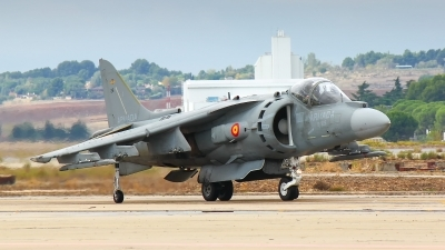 Photo ID 175100 by Filipe Barros. Spain Navy McDonnell Douglas EAV 8B Harrier II, VA 1B 37