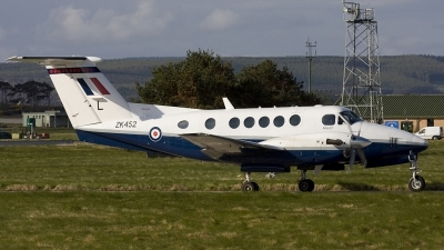 Photo ID 21286 by Jim S. UK Air Force Beech Super King Air B200, ZK452