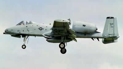 Photo ID 175354 by Arie van Groen. USA Air Force Fairchild A 10A Thunderbolt II, 81 0991