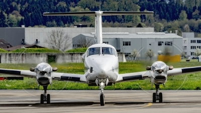 Photo ID 175515 by Martin Thoeni - Powerplanes. Switzerland Air Force Beech Super King Air 350C B300C, T 721