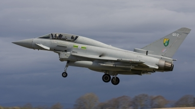 Photo ID 21351 by Jim S. UK Air Force Eurofighter EF 2000 Typhoon T1, ZJ814