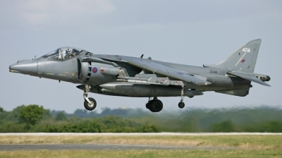 Photo ID 21344 by Marcel Bos. UK Air Force British Aerospace Harrier GR9, ZD411