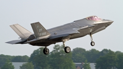 Photo ID 175675 by Niels Roman / VORTEX-images. Netherlands Air Force Lockheed Martin F 35A Lightning II, F 002