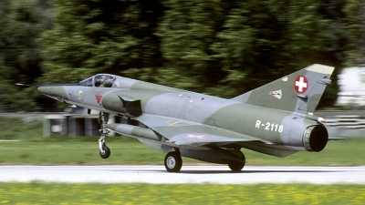 Photo ID 175735 by Joop de Groot. Switzerland Air Force Dassault Mirage IIIRS, R 2118