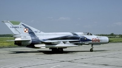 Photo ID 175749 by Marinus Dirk Tabak. Poland Air Force Mikoyan Gurevich MiG 21MF, 6814