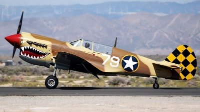 Photo ID 175844 by W.A.Kazior. Private Planes of Fame Air Museum Curtiss P 40N Warhawk, N85104