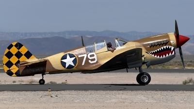Photo ID 175845 by W.A.Kazior. Private Planes of Fame Air Museum Curtiss P 40N Warhawk, N85104