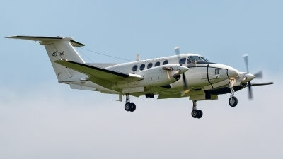 Photo ID 175821 by Thomas Leicht. USA Army Beech C 12U 3 Huron Super King Air B200C, 84 00156