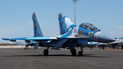 Photo ID 176206 by Lukas Kinneswenger. Kazakhstan Air Force Sukhoi Su 27UBM2,