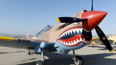 Photo ID 179804 by W.A.Kazior. Private Private Curtiss Kittyhawk IA P 40E, NX94466