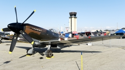 Photo ID 176391 by W.A.Kazior. Private Commemorative Air Force Supermarine 379 Spitfire FR14E, N749DP