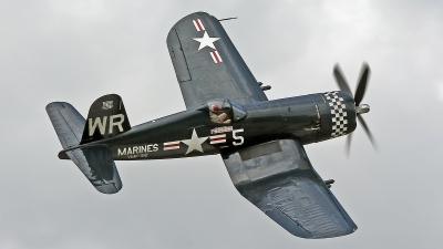 Photo ID 176384 by David F. Brown. Private Fighters Legends LLC Vought F4U 5N Corsair, N179PT