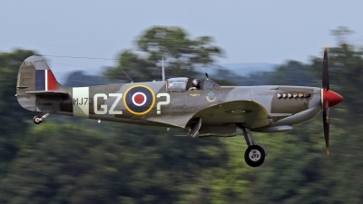 Photo ID 176385 by David F. Brown. Private Fighter Factory Supermarine 361 Spitfire HF9e, N730MJ