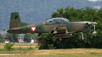 Photo ID 176410 by Giampaolo Tonello. Austria Air Force Pilatus PC 7 Turbo Trainer, 3H FK