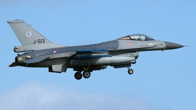 Photo ID 176469 by Rainer Mueller. Netherlands Air Force General Dynamics F 16AM Fighting Falcon, J 513