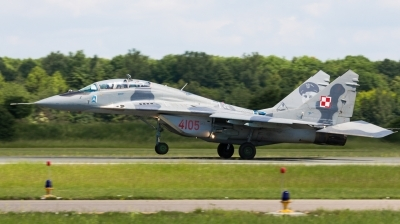 Photo ID 176512 by Andreas Zeitler - Flying-Wings. Poland Air Force Mikoyan Gurevich MiG 29GT 9 51, 4105