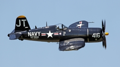 Photo ID 176520 by David F. Brown. Private Private Vought F4U 4 Corsair, N713JT