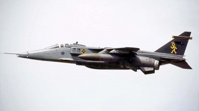 Photo ID 2291 by Paul Tiller. UK Air Force Sepecat Jaguar GR3A, XX117