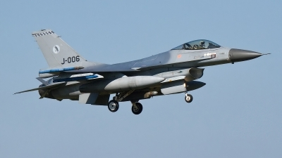 Photo ID 176883 by Rainer Mueller. Netherlands Air Force General Dynamics F 16AM Fighting Falcon, J 006