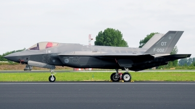 Photo ID 176881 by Alejandro Hernández León. Netherlands Air Force Lockheed Martin F 35A Lightning II, F 002