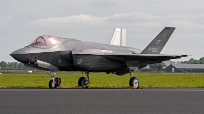 Photo ID 176878 by Jan Eenling. Netherlands Air Force Lockheed Martin F 35A Lightning II, F 002