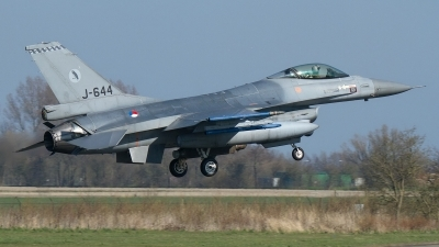 Photo ID 176906 by Rainer Mueller. Netherlands Air Force General Dynamics F 16AM Fighting Falcon, J 644