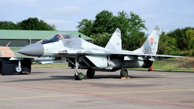 Photo ID 176993 by Alejandro Hernández León. Slovakia Air Force Mikoyan Gurevich MiG 29AS, 3911