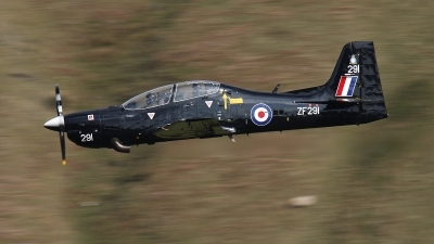 Photo ID 21520 by Kevin Clarke. UK Air Force Short Tucano T1, ZF291