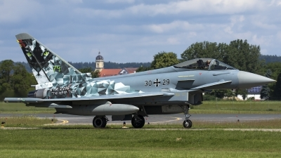 Photo ID 177152 by Thomas Ziegler - Aviation-Media. Germany Air Force Eurofighter EF 2000 Typhoon S, 30 29