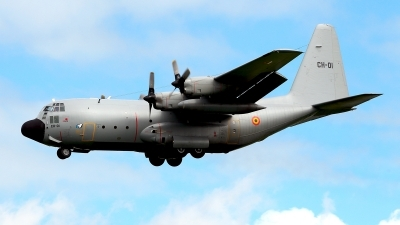 Photo ID 177182 by Carl Brent. Belgium Air Force Lockheed C 130H Hercules L 382, CH 01