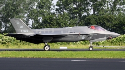 Photo ID 177571 by Mark Broekhans. Netherlands Air Force Lockheed Martin F 35A Lightning II, F 002