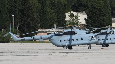 Photo ID 177572 by Lieuwe Hofstra. Croatia Air Force Mil Mi 8MTV 1, 210