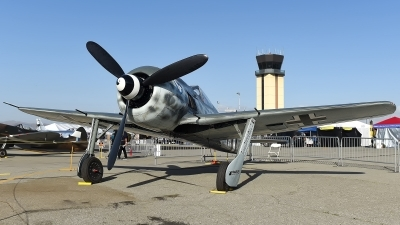 Photo ID 177743 by W.A.Kazior. Private Planes of Fame Air Museum Focke Wulf FW 190A 9, N190RF