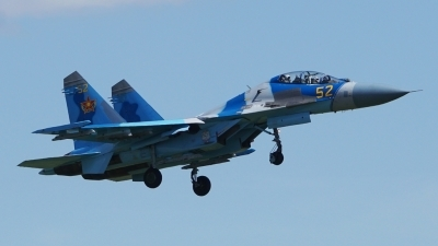 Photo ID 177960 by Lukas Kinneswenger. Kazakhstan Air Force Sukhoi Su 27UBM2,