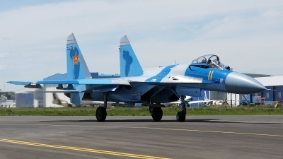 Photo ID 177754 by Lukas Kinneswenger. Kazakhstan Air Force Sukhoi Su 27M2,
