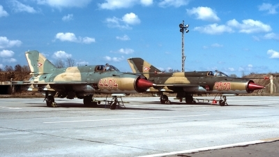 Photo ID 177825 by Carl Brent. Hungary Air Force Mikoyan Gurevich MiG 21MF, 4404