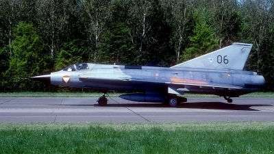 Photo ID 177856 by Rainer Mueller. Austria Air Force Saab J35Oe MkII Draken, 06