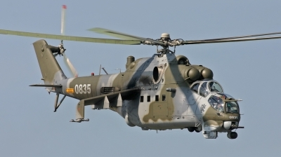 Photo ID 21586 by Marcel Bos. Czech Republic Air Force Mil Mi 24V, 0835