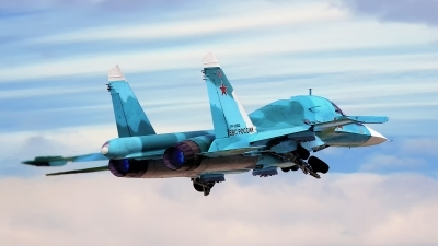 Photo ID 178147 by Sergey Chaikovsky. Russia Air Force Sukhoi Su 34 Fullback, RF 95842