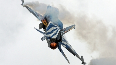 Photo ID 178795 by Richard de Groot. Greece Air Force General Dynamics F 16C Fighting Falcon, 523