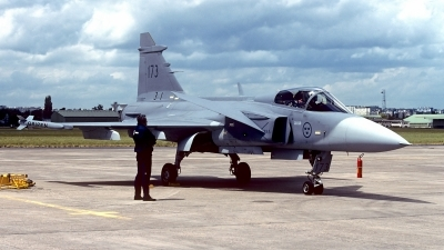 Photo ID 178289 by Carl Brent. Sweden Air Force Saab JAS 39A Gripen, 39173