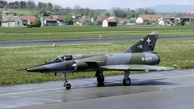 Photo ID 178381 by Joop de Groot. Switzerland Air Force Dassault Mirage IIIRS, R 2117